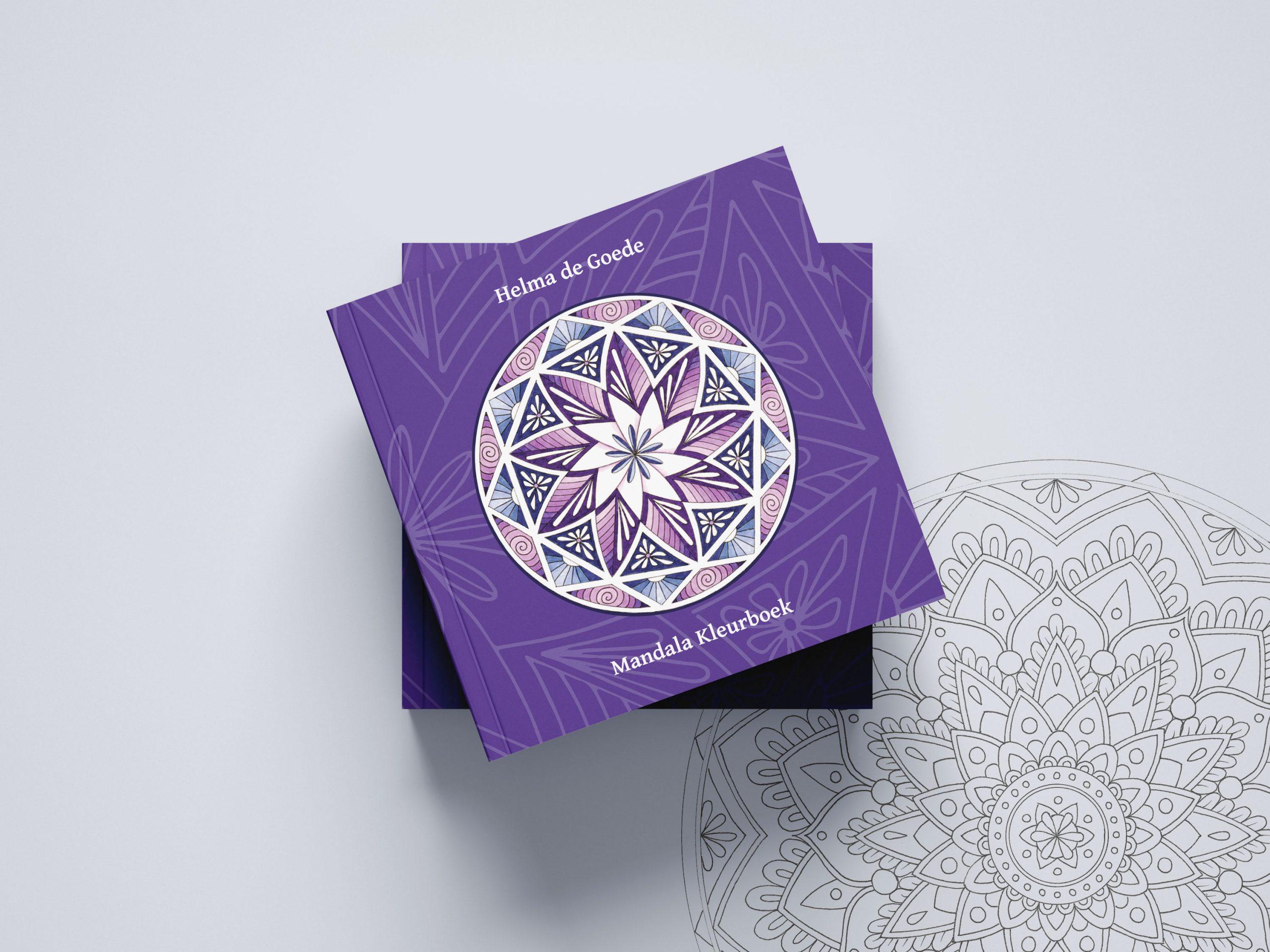 Helma's Mandala Kleurboek van Helma de Goede